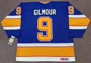 DOUG GILMOUR St. Louis Blues 1987 CCM Vintage Throwback NHL Hockey Jersey