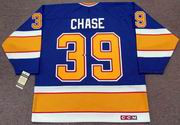 KELLY CHASE St. Louis Blues 1991 CCM Vintage Throwback NHL Hockey Jersey