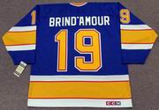 ROD BRIND'AMOUR St. Louis Blues 1989 CCM Vintage Throwback NHL Hockey Jersey