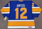 ADAM OATES St. Louis Blues 1989 CCM Vintage Throwback NHL Hockey Jersey