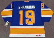 BRENDAN SHANAHAN St. Louis Blues 1991 CCM Vintage Throwback NHL Hockey Jersey