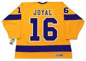 EDDIE JOYAL Los Angeles Kings 1970 CCM Vintage Throwback Home NHL Jersey