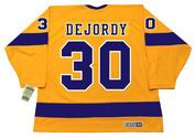 DENIS DEJORDY Los Angeles Kings 1970 CCM Vintage Throwback Home NHL Jersey