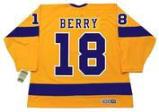 BOB BERRY Los Angeles Kings 1970 CCM Vintage Throwback Home NHL Jersey