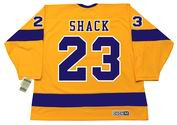 EDDIE SHACK Los Angeles Kings 1970 CCM Vintage Throwback Home NHL Jersey