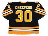 GERRY CHEEVERS Boston Bruins 1978 CCM Vintage Throwback Away NHL Hockey Jersey