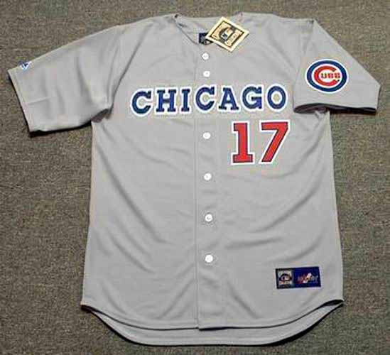 Chicago Cubs Mark Grace Cooperstown Collection Throwback Jersey