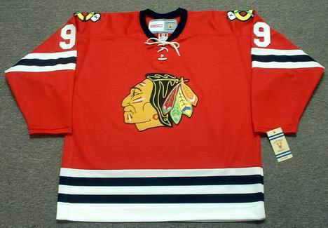 BOBBY HULL Chicago Blackhawks 1963 CCM Vintage Throwback NHL Jersey -  Custom Throwback Jerseys 6147a5155