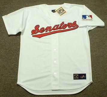 pretty nice 2f9a4 61f1c TED WILLIAMS Washington Senators 1969 Home Majestic Throwback Baseball  Jersey