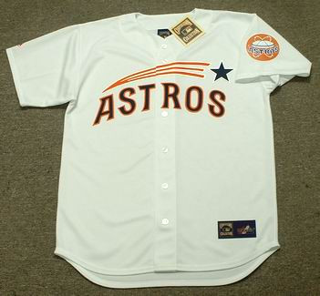 innovative design 99761 f7424 BOB WATSON Houston Astros 1960's Home Majestic Baseball Throwback Jersey
