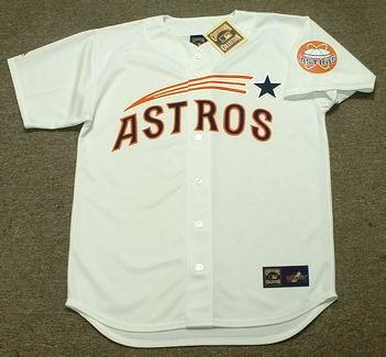 BOB WATSON Houston Astros 1960's Home Majestic Baseball Throwback Jersey - FRONT