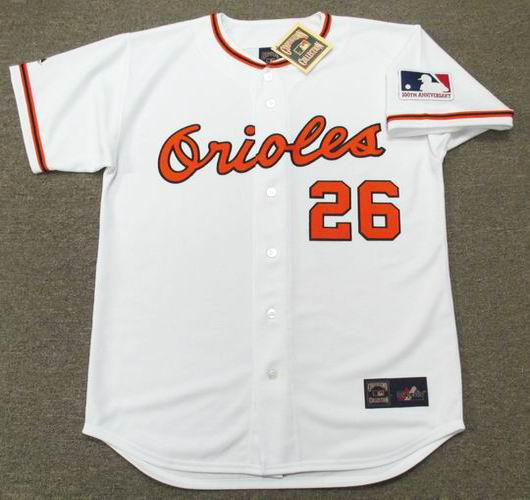 70e3ef660 Boog Powell Jersey - Baltimore Orioles 1969 Home Cooperstown MLB Baseball  Jersey
