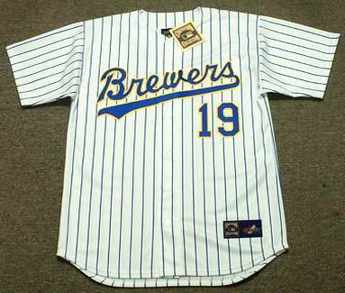 quality design 04cd4 e8a23 ROBIN YOUNT Milwaukee Brewers 1993 Majestic Cooperstown Home Jersey