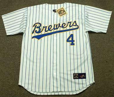 new product 9926e 878e0 PAUL MOLITOR Milwaukee Brewers 1991 Home Majestic Baseball Throwback Jersey