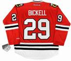BRYAN BICKELL Chicago Blackhawks 2010 REEBOK Premier Throwback NHL Hockey Jersey