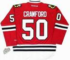 COREY CRAWFORD Chicago Blackhawks 2013 REEBOK Throwback NHL Hockey Jersey