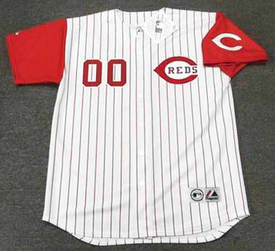 cheaper eac99 0758a CINCINNATI REDS 1990's Majestic Throwback Jersey Customized