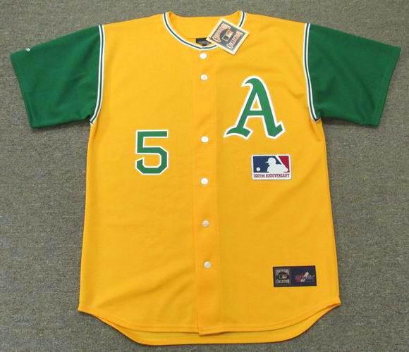 more photos 416a9 529f6 JOE DIMAGGIO Oakland Athletics 1969 Majestic Cooperstown Throwback Jersey
