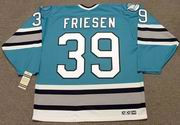 JEFF FRIESEN San Jose Sharks 1997 CCM Vintage Throwback NHL Hockey Jersey