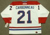 GUY CARBONNEAU Montreal Canadiens 1993 CCM Throwback Home NHL Jersey