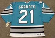 TONY GRANATO San Jose Sharks 1997 CCM Vintage Throwback NHL Hockey Jersey