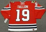 DALE TALLON Chicago Blackhawks 1975 CCM Throwback NHL Hockey Jersey
