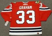 DIRK GRAHAM Chicago Blackhawks 1990 CCM Throwback NHL Hockey Jersey