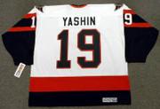 ALEXEI YASHIN Ottawa Senators 1996 CCM Throwback NHL Hockey Jersey - BACK