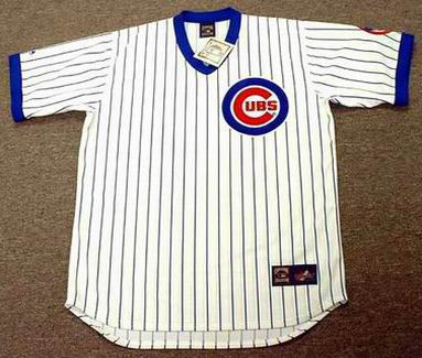 Andre Dawson 1987 Chicago Cubs Majestic MLB Home Throwback Jersey - FRONT