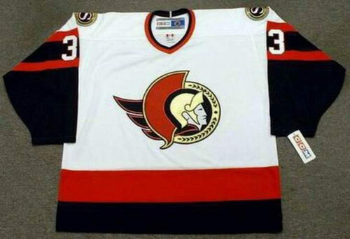 ZDENO CHARA Ottawa Senators 2002 CCM Throwback NHL Hockey Jersey - FRONT