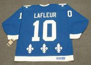 GUY LAFLEUR Quebec Nordiques 1990 Away CCM Vintage Throwback Hockey Jersey - BACK