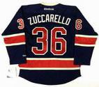 MATS ZUCCARELLO New York Rangers 2014 REEBOK Throwback NHL Hockey Jersey