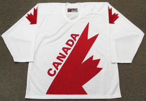 Al MacInnis 1991 Team Canada Nike NHL Throwback Hockey Jersey - FRONT