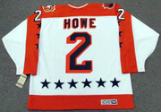 "MARK HOWE 1986 Wales ""All Star"" CCM Vintage Throwback NHL Hockey Jersey"