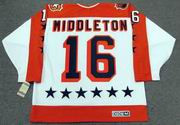 "RICK MIDDLETON 1984 Wales ""All Star"" CCM Vintage Throwback NHL Hockey Jersey"