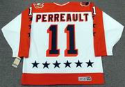 "GILBERT PERREAULT 1984 Wales ""All Star"" CCM Vintage Throwback NHL Hockey Jersey"