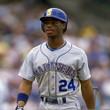 KEN GRIFFEY JR. Seattle Mariners 1989 Away Majestic Baseball Throwback Jersey - ACTION