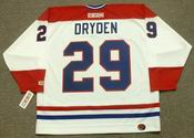 KEN DRYDEN Montreal Canadiens 1978 CCM Throwback Home NHL Jersey