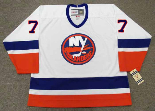 PIERRE TURGEON New York Islanders 1993 Home CCM Vintage Throwback Hockey Jersey - FRONT