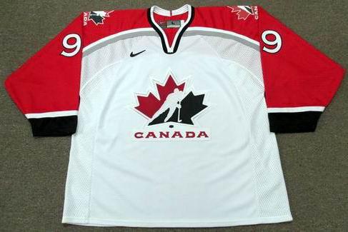 Paul Kariya 1998 Team Canada Olympic Throwback Hockey Jersey - FRONT