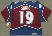 JOE SAKIC Colorado Avalanche 1996 CCM Vintage Throwback NHL Hockey Jersey