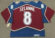 TEEMU SELANNE Colorado Avalanche 2003 CCM Vintage Throwback NHL Hockey Jersey