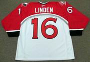 TREVOR LINDEN 1998 Team Canada Nike Olympic Throwback Hockey Jersey