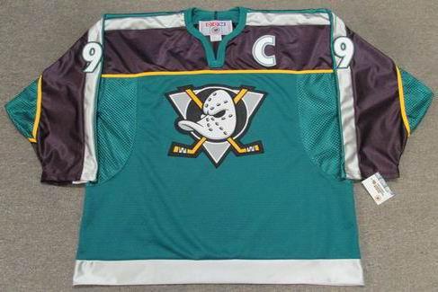 meet 2803c db0a1 PAUL KARIYA Anaheim Mighty Ducks 1998 Alternate CCM Throwback NHL Jersey