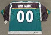 1990's CCM Vintage Alternate Customized Anaheim Mighty Ducks Jersey - BACK
