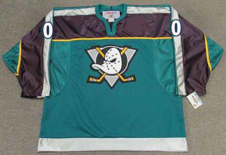 cec9d16db0a ... Customized Anaheim Mighty Ducks Jersey - BACK. See 4 more pictures