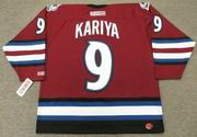Paul Kariya 2003 Colorado Avalanche Alternate CCM NHL Throwback Hockey Jersey - BACK