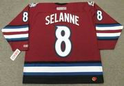 TEEMU SELANNE Colorado Avalanche 2003 CCM Throwback Alternate NHL Hockey Jersey
