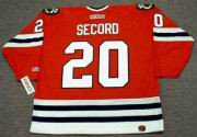 AL SECORD Chicago Blackhawks 1983 CCM Throwback NHL Away Hockey Jersey - Thumbnail