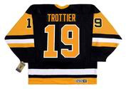 Bryan Trottier 1992 Pittsburgh Penguins NHL Throwback Away Jersey - BACK